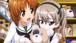 yandeare 339070 girls_und_panzer kotobuki_arisu nishizumi_miho seifuku