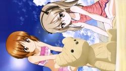 aa 347998 girls_und_panzer itou_takeshi nishizumi_miho shimada_arisu swimsuits