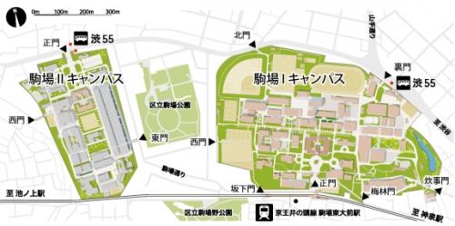 駒場キャンパス地図400002223
