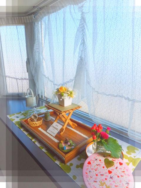 春の出窓1