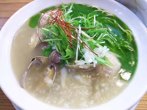 浅利のパイタン麺