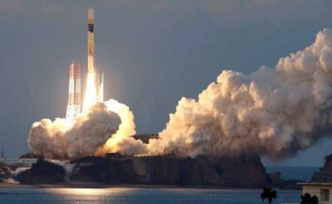 Japan launches satellite