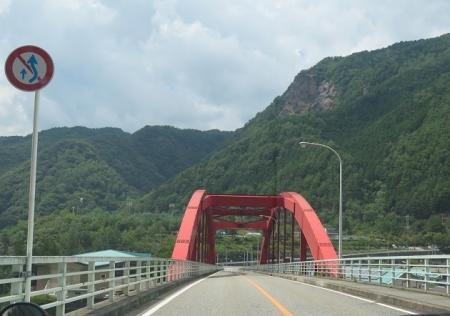 栃木ドライブ 足尾へ 赤い橋