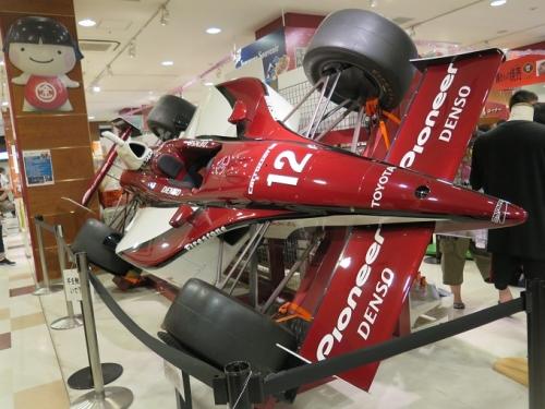 足柄S.A F1カー