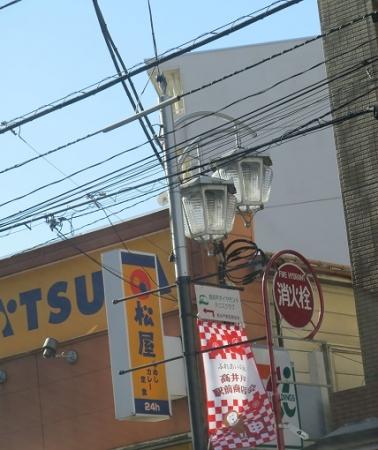 東京 高井戸付近 街燈