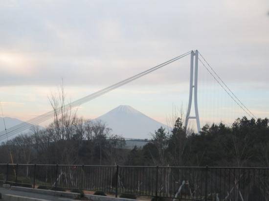 スカイウォークと富士山