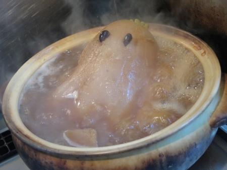 煮られるカービー大根