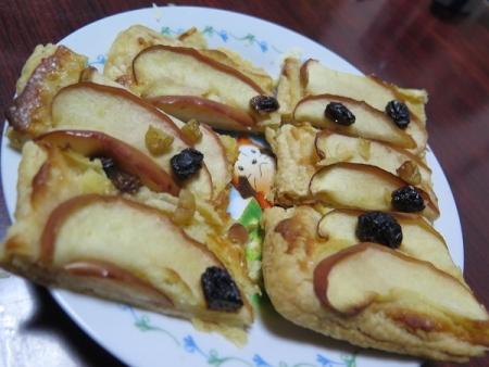 りんごの折りパイ