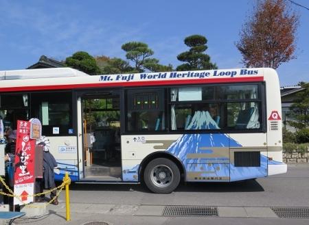 忍野八海 バス
