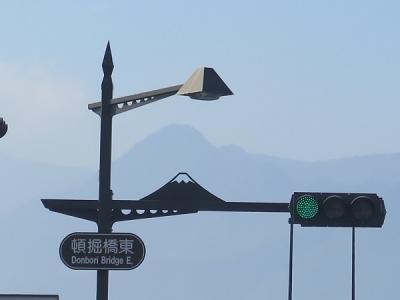 山梨 街灯 富士山
