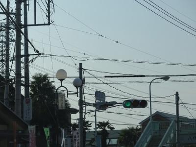 山梨 街灯