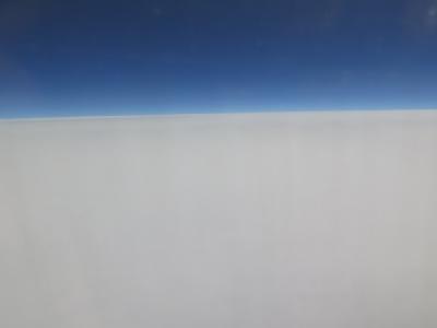 雲べたべた