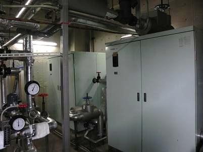 湯温コントロール室