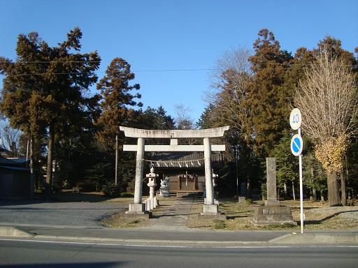 高坂神社(左手9号墳)