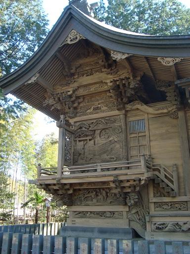 八宮神社本殿彫刻