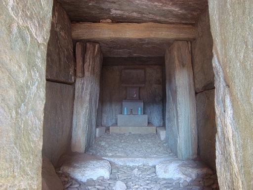 穴八幡古墳横穴式石室