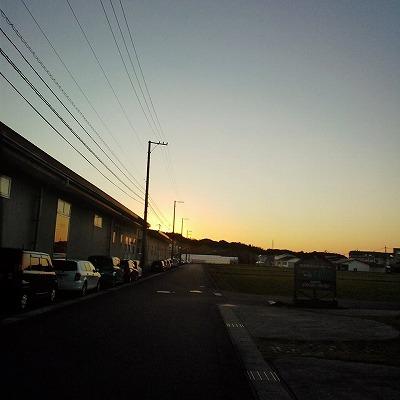 s-夕方の今井書店*