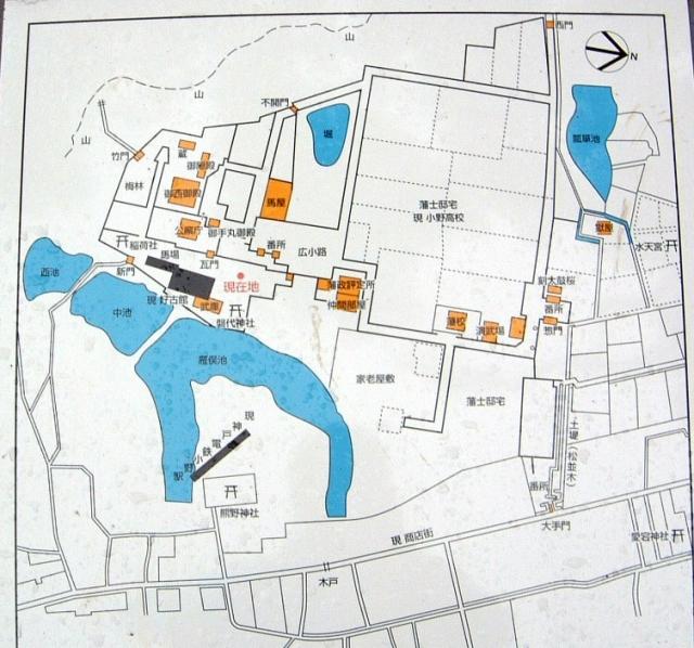 小野藩陣屋図
