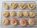 絞り出しクッキー(ハート・バラ)手順6