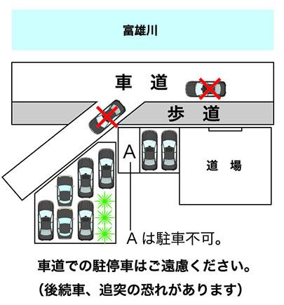 A4-駐車位置の注意