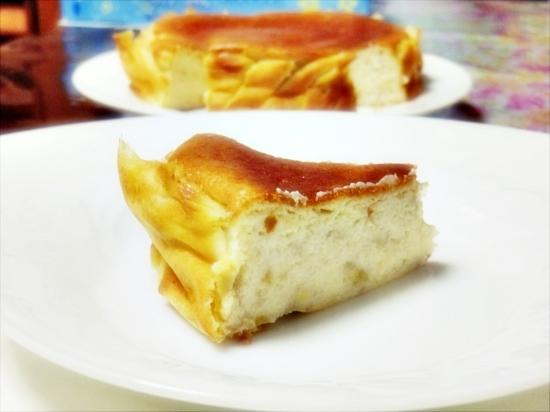 バナナチーズケーキ♪