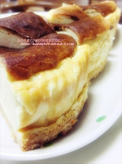 水切りヨーグルトベイクドチーズケーキ♪