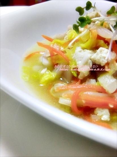 野菜たっぷり!白菜とひき肉のとろ~り蒸し煮♪