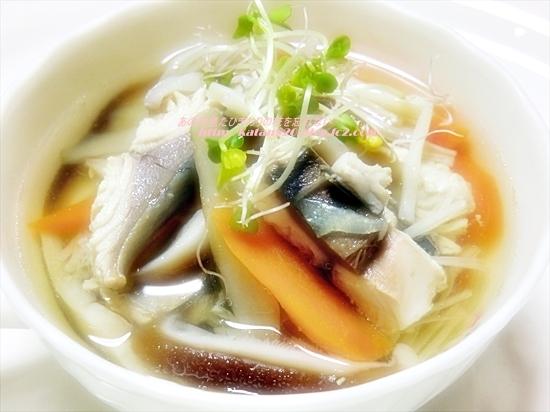 さばの和風スープ♪
