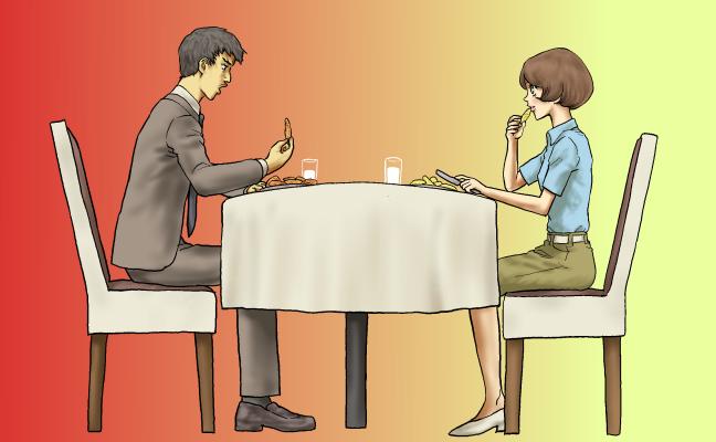 辛沢と酢好の晩餐会1改