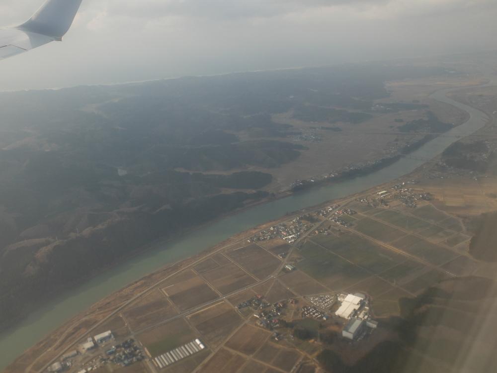 秋田航空写真