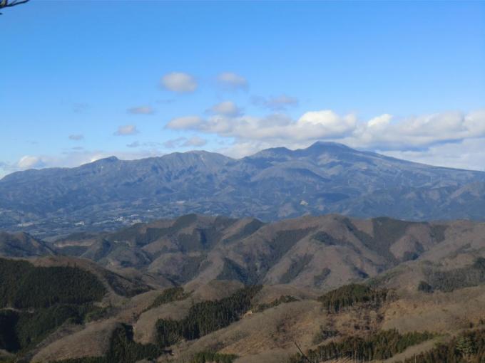 第二展望台から赤城山