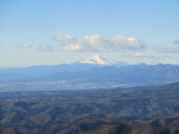 第一展望台から浅間山