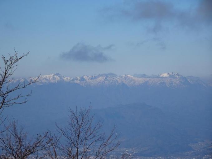 谷川岳から平標山