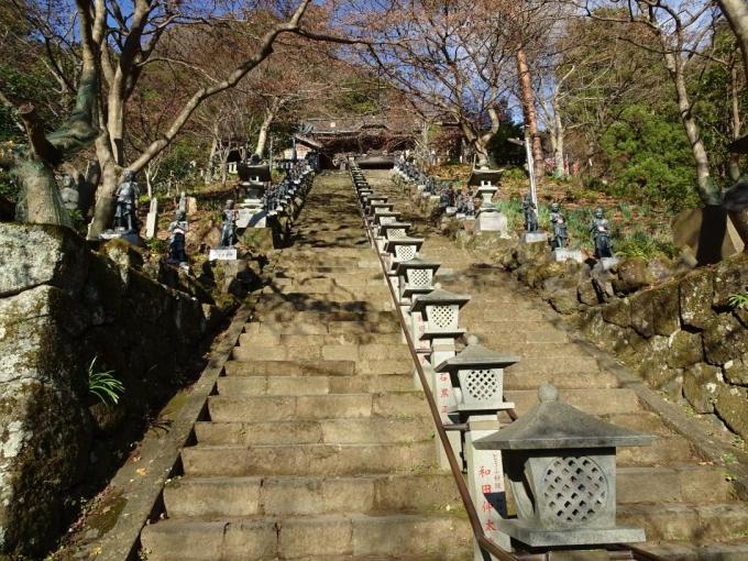 大山寺への階段