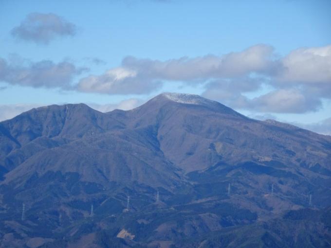 黒檜山をズーム
