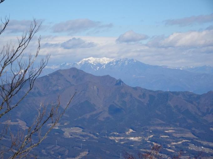 東の肩から上州武尊山
