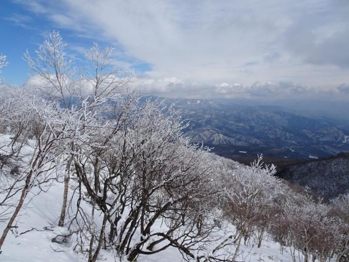霧氷の森4