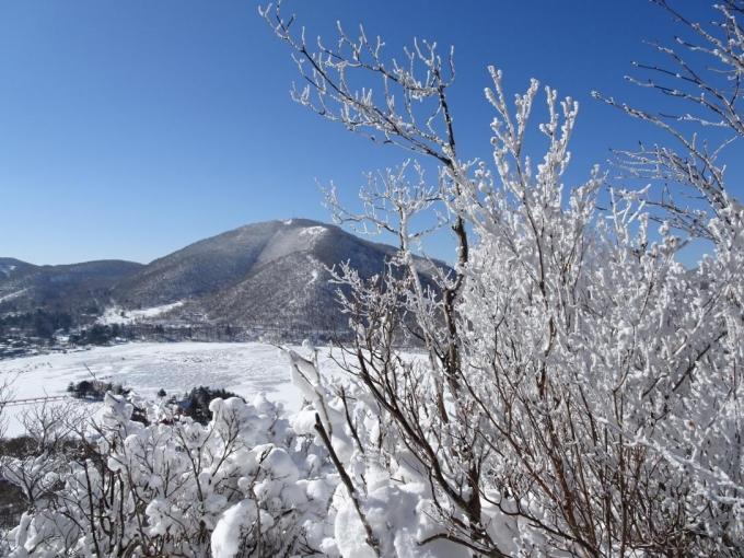 地蔵岳、大沼