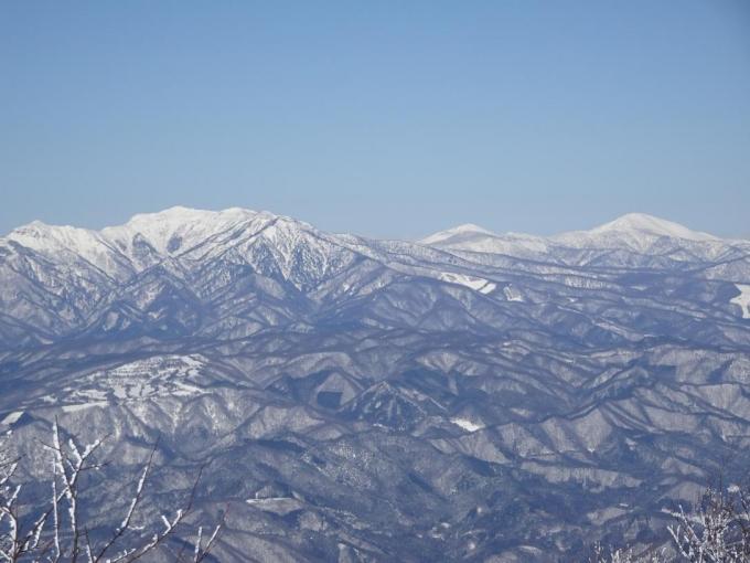 上州武尊山、尾瀬笠ヶ岳、至仏山