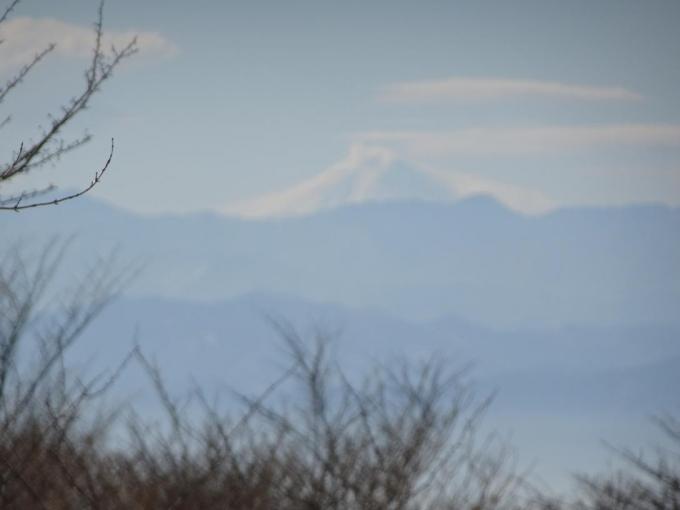 荒山高原から富士山