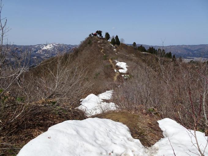 坂戸山へ戻る