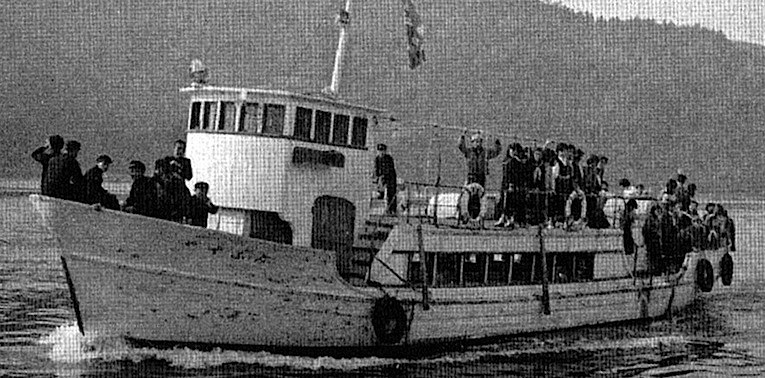 気中20+PLUS 大島巡航船の軌跡