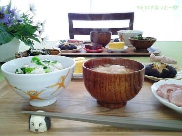 産直市の食材で和御膳5