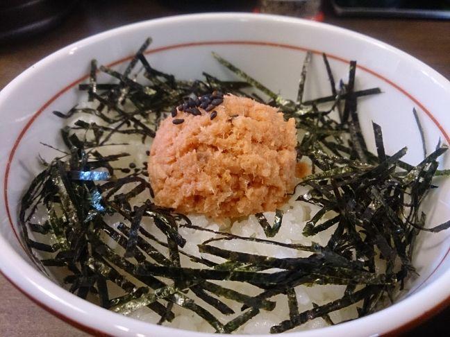 鮭ごはん(1)