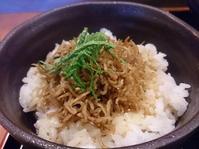 じゃこ飯(1)