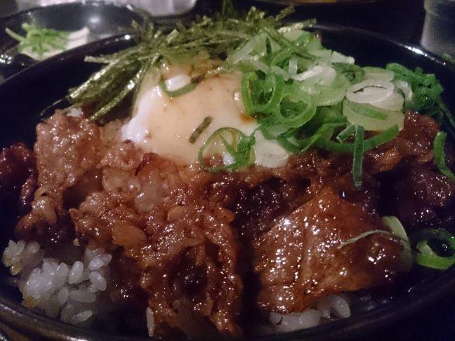 炙り焼き丼(1)