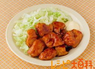 鶏肉のうま酢煮