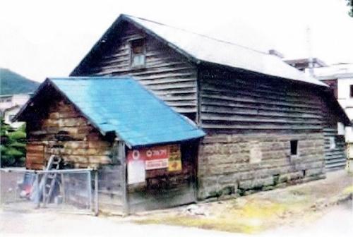 平岸1-17 Hさん宅 軟石倉庫