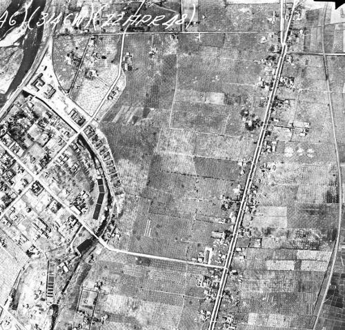 1948年米軍写真 平岸1-5周辺