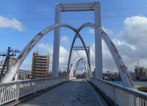 環状夢の橋 橋上